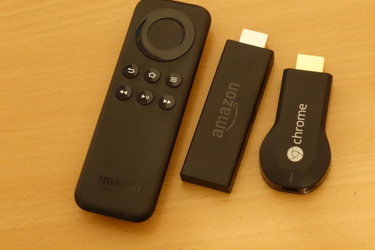 Chromecast und Fire-TV-Stick