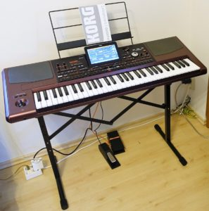 Adam Hall SKS 05 mit Korg Pa1000