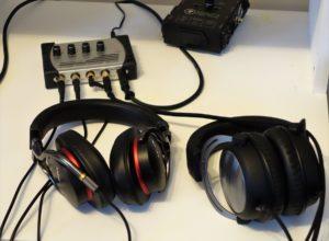 Millenium HA4 und Kopfhörer