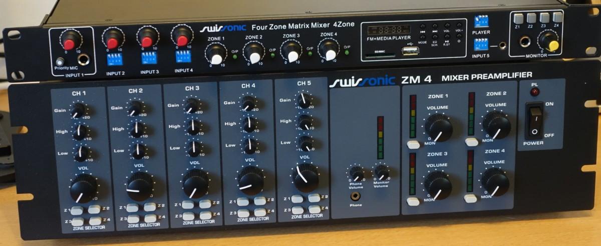 Swissonic ZM 4 und 4Zone