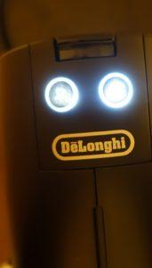 DeLonghi EN 125.S Oberseite