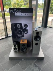 nuBox-History im Eingangsbereich