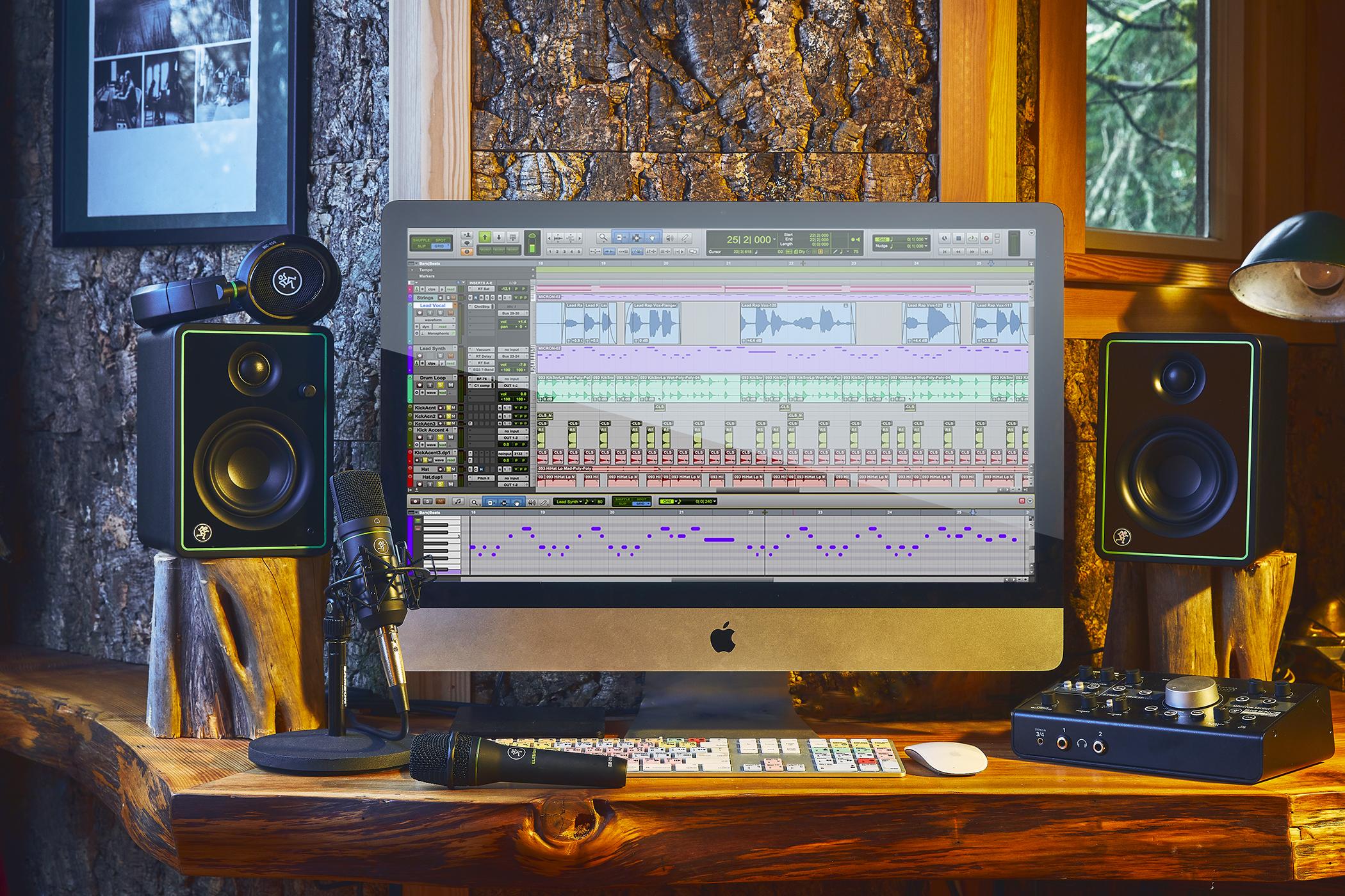 Mackie CR-Serie Home-Studio