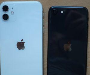 iPhone SE und iPhone 11 Rückseiten