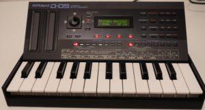 Roland D-05 mit K-25m