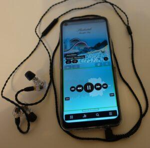 Mackie MP-460 mit Nokia 8.3 5G