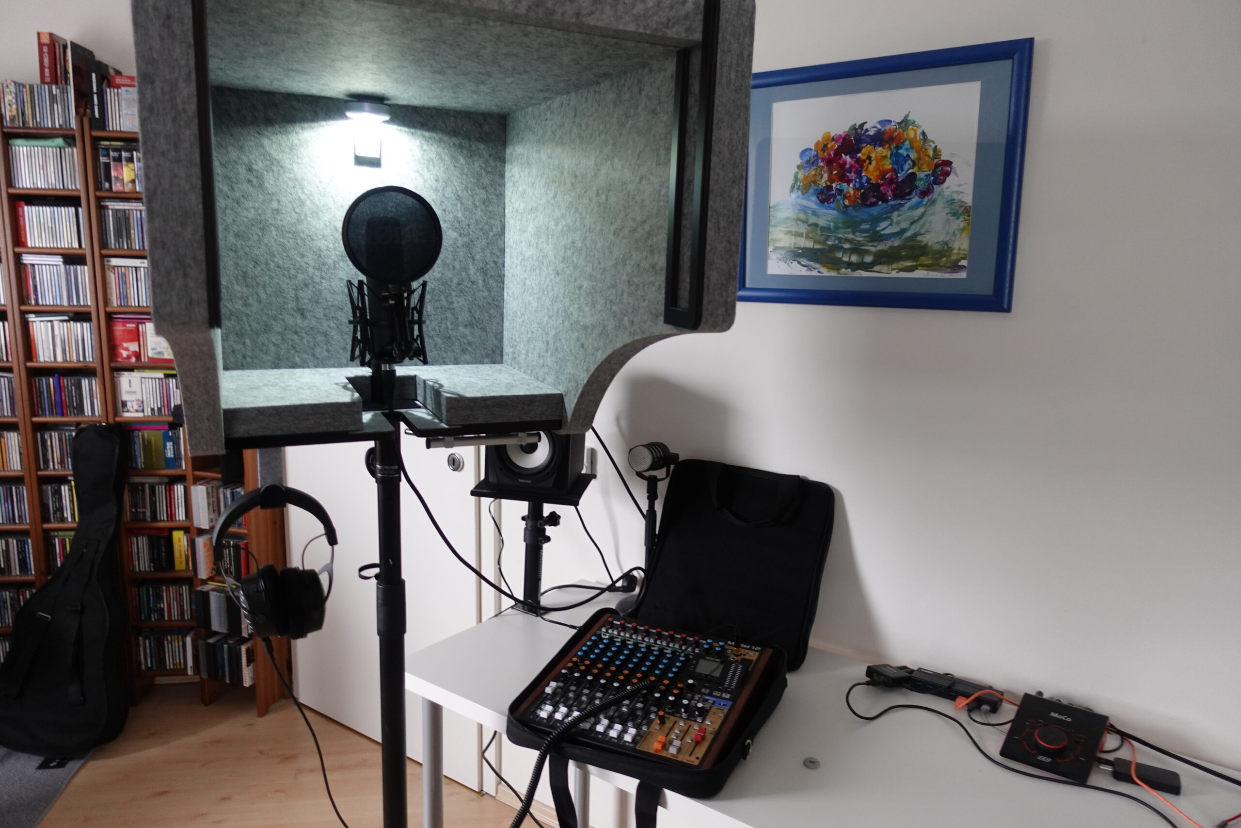 t.akustik Vocal Head Booth